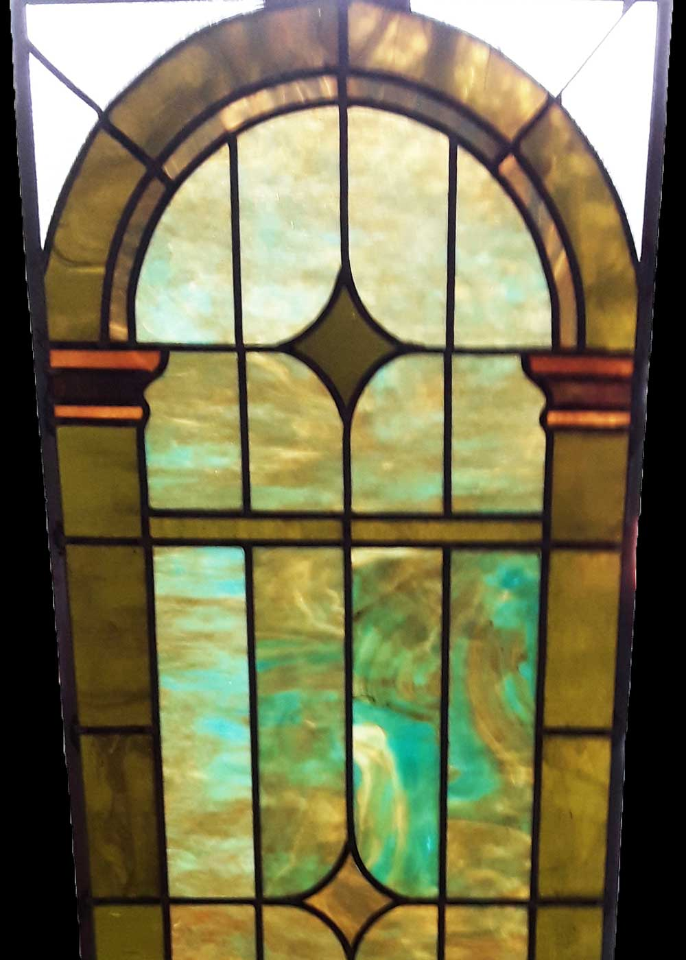 stained glass and leaded glass repairs, Rochester NY
